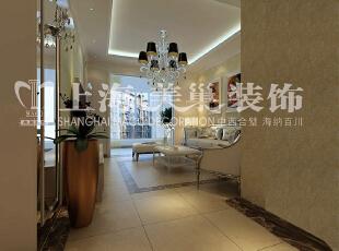 润城两室两厅87平简欧风格案例——客厅布局效果图,87平,5万,欧式,两居,客厅,白色,