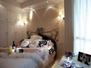 北京别墅装修设计——儿童房 主要以女孩房打造的比较公主房一样,比较舒适!,327平,66万,简约,四居,儿童房,黑白,粉色,黄色,
