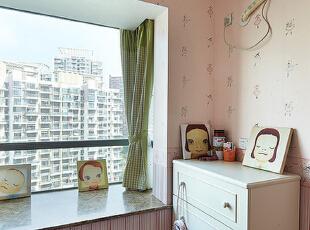 ,135平,10万,简约,三居,卧室,粉红色,