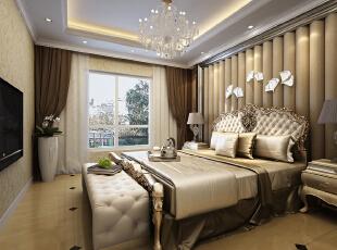,110平,13万,现代,三居,卧室,简约,黄色,