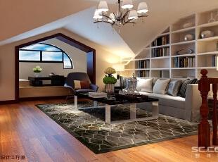 客厅设计: 客厅打造,更不需要过多的摆设,宜家的北欧风格最是合适。线条简单的家具。,150平,13万,欧式,四居,