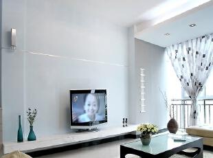 没有刻意的造型,只有对原建筑的尊重。,138平,16万,简约,两居,客厅,白色,