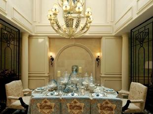紫禁尚品国际装饰——餐厅 简单 大气,378平,68万,欧式,别墅,餐厅,黑白,绿色,黄色,