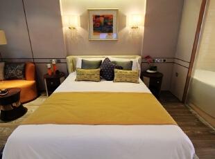 ,53平,7万,一居,现代,卧室,白色,
