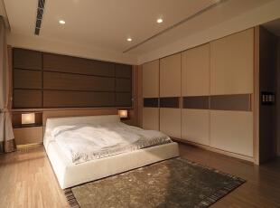 ,138平,15万,现代,四居,卧室,原木色,