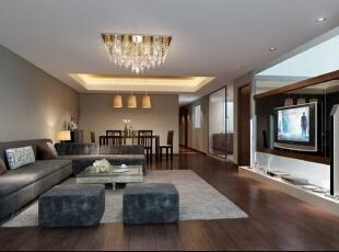 客厅,160平,11万,现代,四居,
