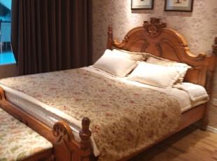 ,90平,11万,中式,两居,卧室,春色,