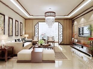 ,200平,16万,中式,四居,客厅,白色,