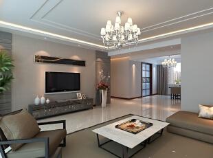 ,200平,20万,现代,四居,客厅,咖啡色,