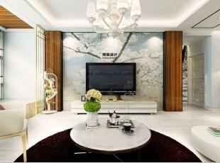 国龙绿城怡园87平方两室两厅现代简约风格装修效果图 客厅,87平,5万,现代,两居,客厅,