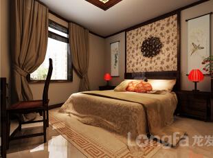 ,143平,5万,中式,三居,厨房,卧室,原木色,