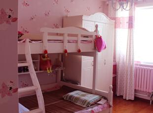 ,145平,7万,简约,三居,卧室,粉红色,