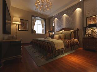 ,120平,9万,现代,三居,卧室,原木色,