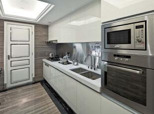 ,379平,40万,欧式,别墅,厨房,白色,