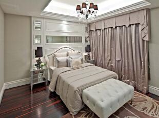 ,379平,40万,欧式,别墅,卧室,白色,