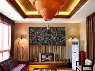 绿地蔷薇九里复式户型装修泰式风格设计方案展示,上海聚通装潢最新完工案例,欢迎品鉴!,158平,42万,现代,复式,客厅,白色,