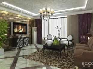 客厅设计: 客厅是整个居室最重要的组成部分,是业主起居、活动、会客、家人团聚的最主要空间,也是整个装修的重点。电视墙采用整面铺贴博得精工玉石,周边定制金线米黄石材收边,在尊贵中彰显品位。,185平,17万,欧式,三居,