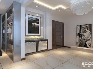 玄关设计: 简约中求艺术,化繁为简,用艺术的精髓,合理的简化居室,从简单舒适中体现生活的精致。,150平,14万,现代,四居,