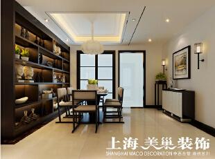 郑州翰宇天悦128.5平方四室两厅餐厅装修效果图---餐厅,128平,6万,中式,四居,餐厅,原木色,