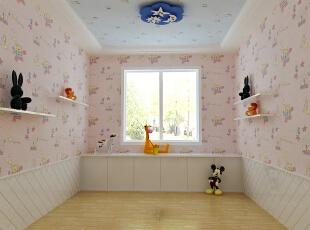 ,121平,11万,地中海,卧室,粉色,