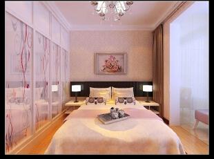 平阳景苑130平--三居室--现代简约装修设计效果图,115000万,现代,三居,粉色,田园,卧室,