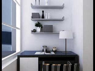 劲松小区120平--三居室--后现代装修设计效果图—东唐装饰设计有限公司—装修模式:半包 6.35万元。,120平,小资,三居,阳台,玄关,白色,