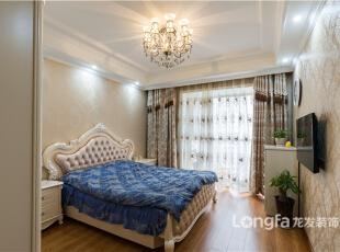 ,220平,15万,四居,新古典,卧室,白色,