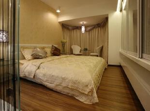 ,110平,7万,现代,三居,卧室,白色,