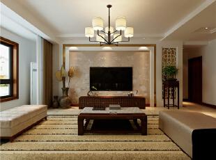 天津南益名士华庭143平米现代简约风格的温馨小窝~,143平,6万,现代,三居,客厅,原木色,红色,白色,