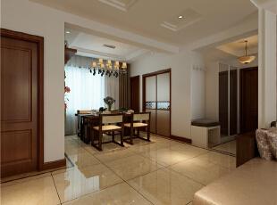 天津南益名士华庭143平米现代简约风格的温馨小窝~,143平,6万,现代,三居,餐厅,原木色,红色,白色,