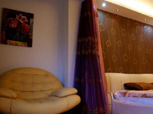 ,98平,4万,现代,两居,卧室,暖色,