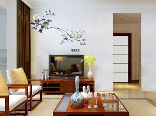 国龙绿城怡园89平方两室两厅现代简约装修效果图 客厅,89平,5万,现代,两居,客厅,