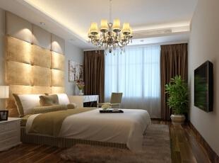 ,117平,8万,欧式,三居,卧室,白色,