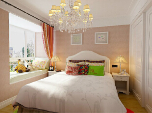 ,97平,8万,现代,两居,卧室,白色,