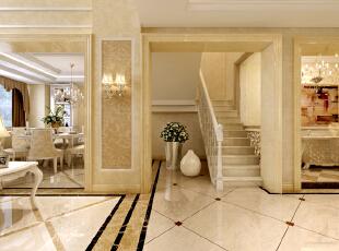 ,280平,60万,混搭,别墅,楼梯间,