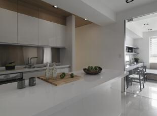 ,186平,20万,四居,现代,厨房,白色,