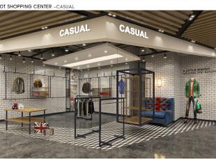 门厅右侧店面装修,1500平,15000万,韩式,公装,白色,简约,