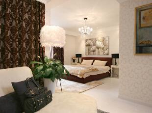 ,110平,21万,小资,三居,卧室,欧式,新古典,黄色,白色,