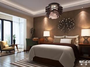 简欧风格从整体到局部、从空间到室内陈设塑造,精雕细琢,给人一丝不苟的印象。一方面保留了材质、色彩的大致感受,可以领悟到欧洲传统的历史痕迹与深厚的文化底蕴,同时又摒弃了过于复杂的肌理和装饰,简化了线条。,100平,15万,欧式,两居,卧室,