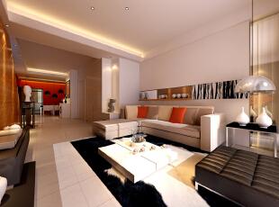 ,170平,15万,现代,四居,客厅,白色,