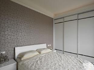 ,98平,12万,现代,两居,卧室,白色,