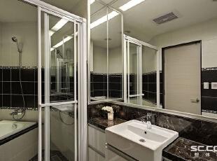 ,98平,12万,现代,两居,卫生间,黑白,