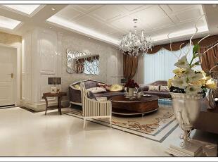 ,130平,11万,现代,四居,客厅,白色,