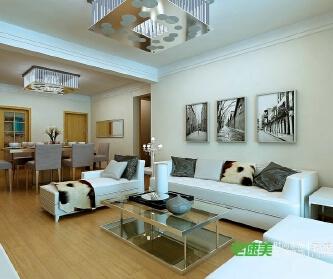 东方龙城126平现代风格...