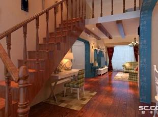 设计: 餐厅在楼梯底线,这样充分的利用了空间。,112平,10万,混搭,三居,