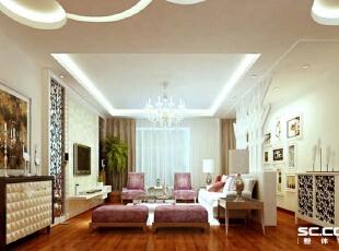 客厅设计: 简洁明快、温馨舒适、美观实用、放心舒心,简约而不简单。美丽大方,轻古典的色调让整个屋子更具现代的特色,尽显主人的品味。 亮点:电视背景镜面与石膏板的结合更体现出屋子的空间感,吊顶圆形诠释了天圆地方这个概念,让这个空间更具特色。,143平,12万,现代,四居,