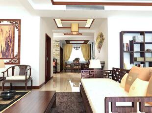 玄关设计: 作为一种中式装修风格与其它西方、东南亚等装修风格也有很大不同,首先所营造的文化氛围是不同的,每一种装修风格都有其特定的文化背景作为支撑,以此来传递特定文化氛围中人们的生活追求。,167平,15万,中式,四居,