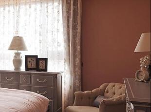 ,132平,25万,混搭,三居,卧室,粉红色,