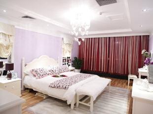 ,97平,11万,田园,两居,卧室,紫色,白色,