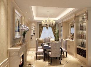 ,135平,0万,欧式,两居,餐厅,白色,